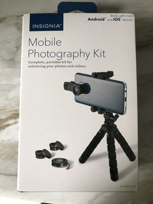 Mobile photography kit for Sale in Georgetown, MA