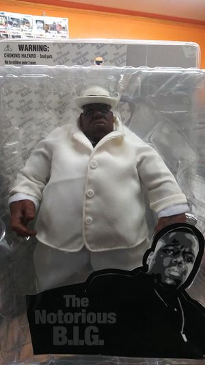 Notorious BIG Big Poppa Biggie Smalls action figure for Sale in Phoenix, AZ