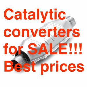 We install catalytic converters!!!!!! for Sale in Houston, TX