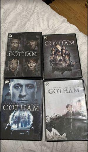 DC Gotham Season 1-4 for Sale in Modesto, CA