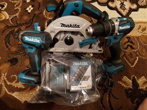 Makita brushless 3pc combo for Sale in Fresno, CA