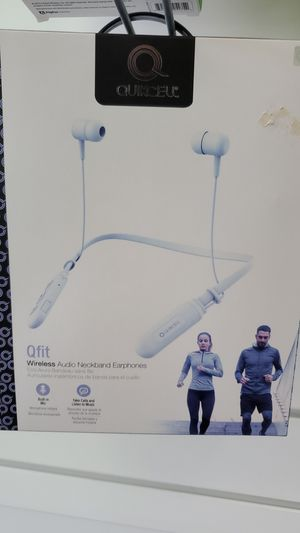 Qfit wirless neckband earphones for Sale in Silver Spring, MD