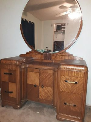 Antique dresser and bed for Sale in Saucier, MS