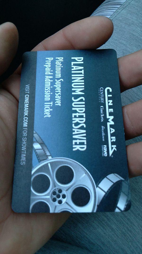 Platinum supersaver prepaid admission tickets