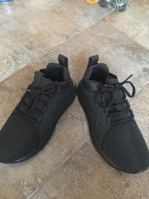 Puma all black size 8 for Sale in Portland, OR