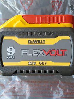 DeWALT 20V/ 60V MAX FLEX 9.0AH BATTERY 🔋 for Sale in Los Angeles,  CA