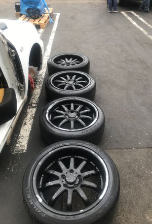 AXIS WHEELS AND TIRES 18inch 5x114.3 for Sale in La Habra, CA