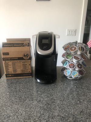 Keurig 2.0, K cups, K cup carousel for Sale in Washington, DC
