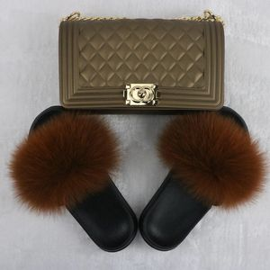 Jelly Bag & Fur Slides for Sale in Tuscaloosa, AL