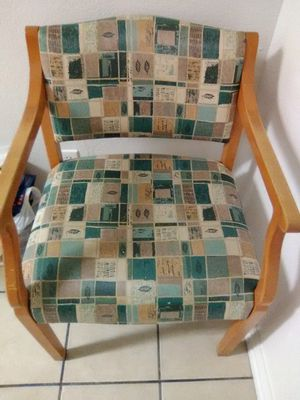 2 Vinyl covered chairs for Sale in San Angelo, TX
