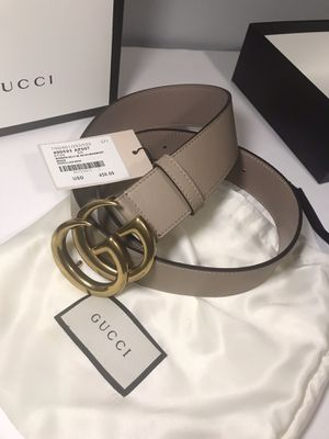 Gucci Dusty Pink & Red Guccisima Belt Package! for Sale in Queens, NY