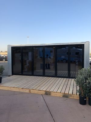 Farm house shipping container/ pool house/ outside living space for Sale in Clovis, CA