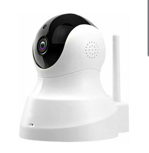 Wireless Camera, IP Camera with Night Vision/ Two-way Audio Wifi Indoor Home Pet Baby, Remote Surveillance Monitor with MicroSD Slot, Android, iOS for Sale in Baldwin Park, CA