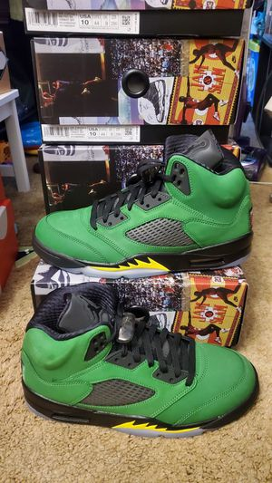 Jordan 5 oregon's for Sale in San Francisco, CA