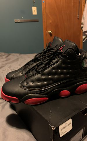 Jordan 13 black and Red Size 7y for Sale in Chicago, IL