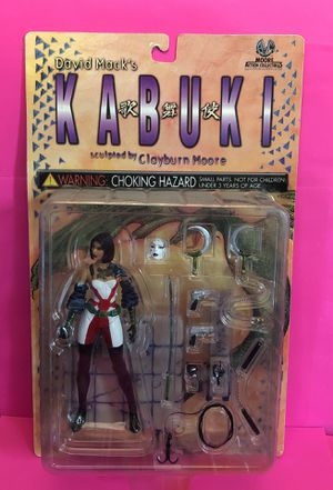 """David Mack's Kabuki 6"""" Action Figure Moore Action Collectibles 2000 for Sale in Las Vegas, NV"""