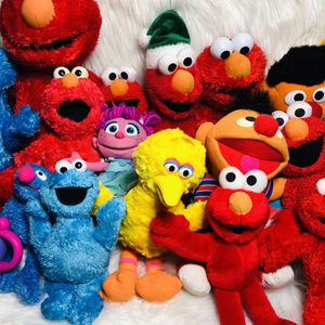 Giant Sesame Street Plush Lot for Sale in Largo, FL