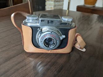 Bolsey U.S.A made vintage camera, untested exxcelelnt used condition, leather case for Sale in Columbus,  OH