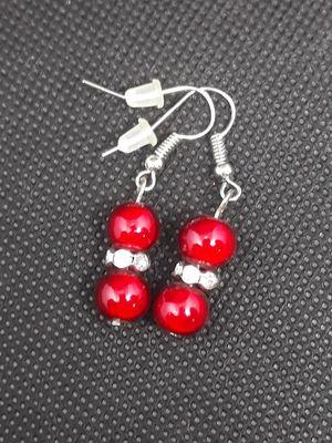 Red gloss earrings for Sale in La Mirada, CA