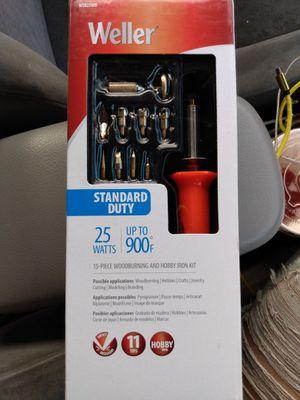 Weller 25watt hobby soldering iron set for Sale in Mission Viejo, CA