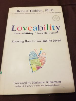 Loveability by dr. Robert Holden for Sale in West Covina, CA