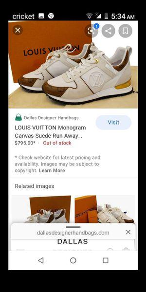 Ladies Size 7 Louis Vuitton Tennis Shoes for Sale in Dallas, TX