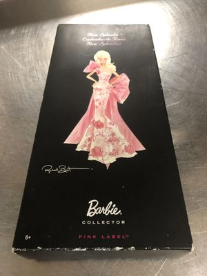 PRE-OWNED 2010 PINK BARBIE ROSE SPLENDOR BY-ROBERT BEST COLLECTORS EDITION for Sale in Annapolis Junction, MD