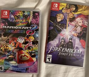 Mario Kart 8 Deluxe Fire Emblem Three Houses for Sale in Woodburn,  OR