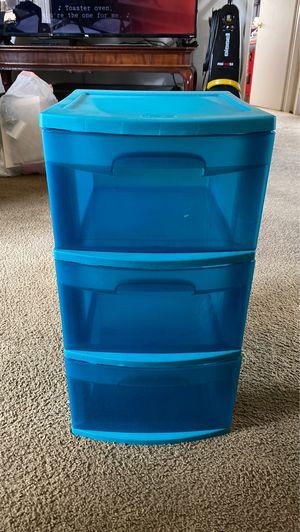 Sterilite 3 drawer storage container for Sale in Chula Vista, CA
