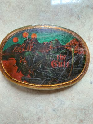 Vintage 70's The Cult Buckle for Sale, used for sale  Graham, WA