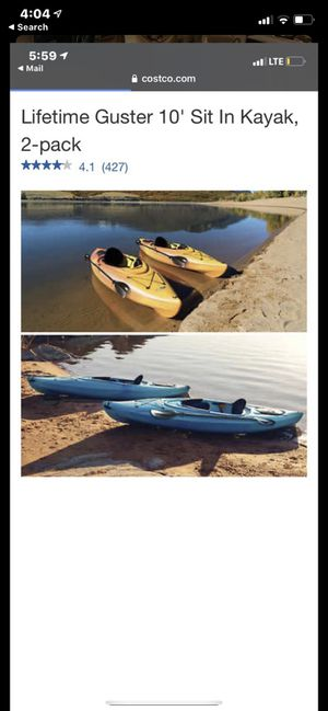 NEVER OPENED- Single-Person Kayak for Sale in Miami Shores, FL