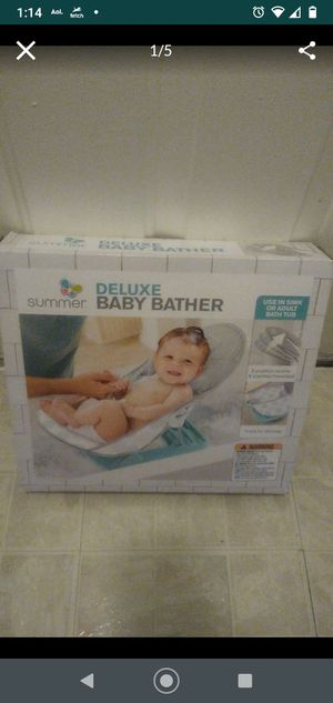 Baby bather 10.00 new for Sale in Germantown, MD