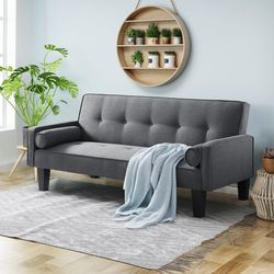 NEW Ertil 71.6'' Wide Square Arm Convertible Sofa. Gray for Sale in Dublin,  OH