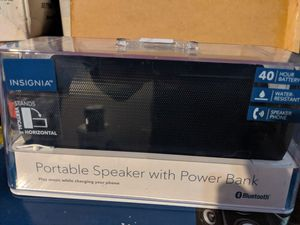 Insignia Bluetooth speaker brand new never used in the box for Sale in Riverside, CA