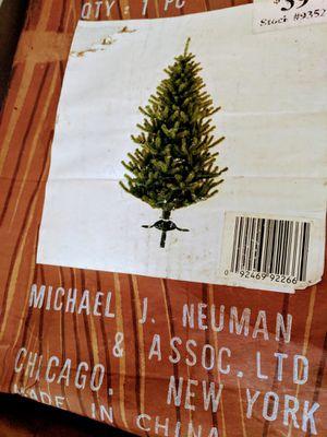 6.5 ft Christmas tree! Boxed for Sale in Manassas Park, VA