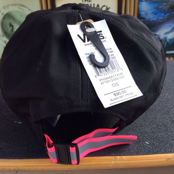 Vans Reflective Pink Baseball Hat New With Tags