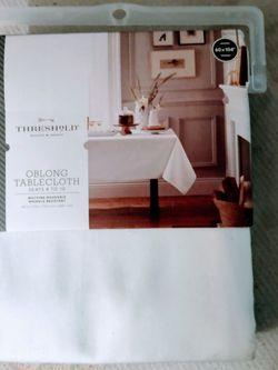 "NWOT Threshold 60""x 40"" Table Cloth Bundle x 2 for Sale in Nicasio,  CA"