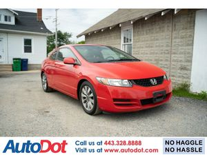 2011 Honda Civic Cpe for Sale in Sykesville, MD