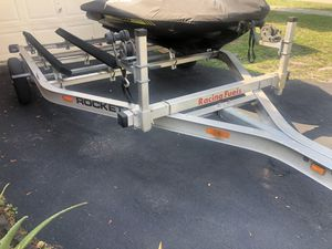 Double trailer for Jet Ski's for Sale in North Lauderdale, FL