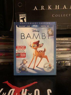 Disney Bambi (Blu-ray / DVD) 2017 for Sale in Brooklyn, NY