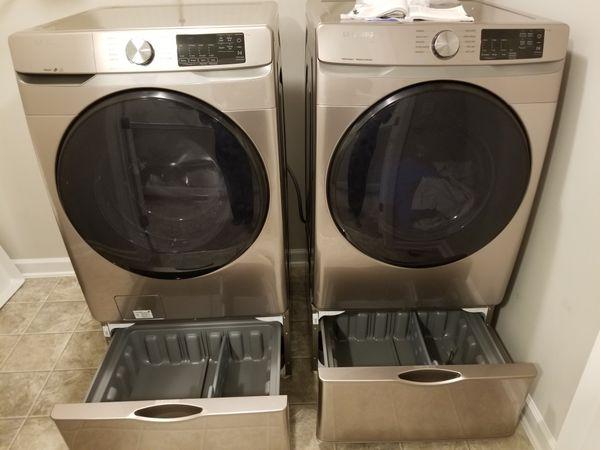 Samsung Electric Washer & Dryer