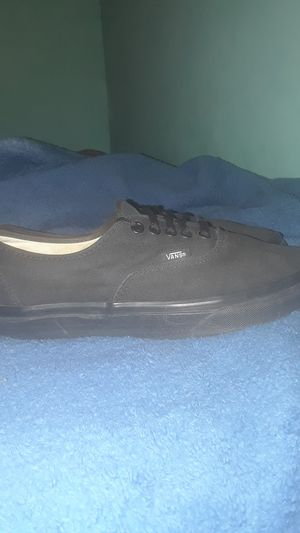 Vans all black size 9.5 for Sale in Tampa, FL