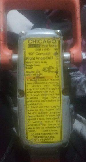 Chicago right angle drill for Sale in Wichita, KS