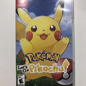 Pokémon Let's Go Pikachu - Nintendo Switch for Sale in Miami, FL