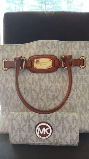 MK Leather Bag and Wallet for Sale in Woodbridge, VA