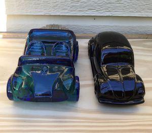 Vintage Avon Volkswagen Glass Dune Buggy & VW Bug Decanters for Sale in Fresno, CA