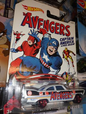 CAPTAIN AMERICA AVENGERS PLYMOUTH HOTWHEEL for Sale in San Diego, CA