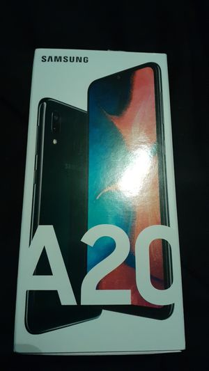 SAMSUNG GALAXY A20 ALMOST NEW PHONE for Sale in Kissimmee, FL
