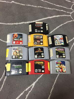 Nintendo 64 Games for Sale in Hialeah, FL