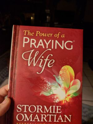 Power of the Praying Wife hardback book by stormie omartian for Sale in Montgomery, AL